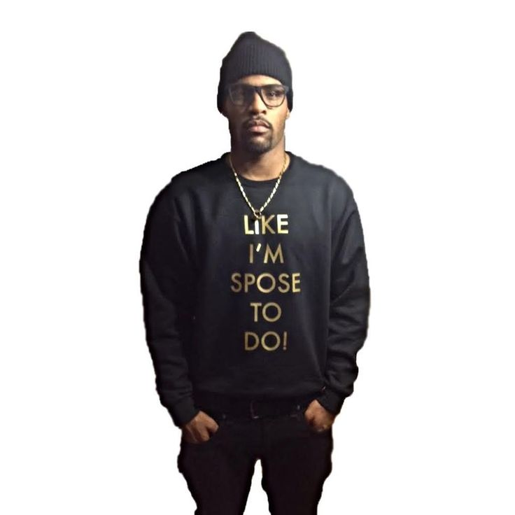 "Pre order the ""like i'm spose to do"" crew neck and support this music artist from Halifax Nova Scotia, T-Bear(Christian) Upshaw. BE THE MOVEMENT.T-Bear's music focuses on ""being a voice for those who feel they don't have one"" which connects directly to the Behaviour Apparel existing line, ""Be Your Own Hero."" The two movements compliment each other by reaching out to inspire and support the voice and creativity of people through the power of music and art. T..."