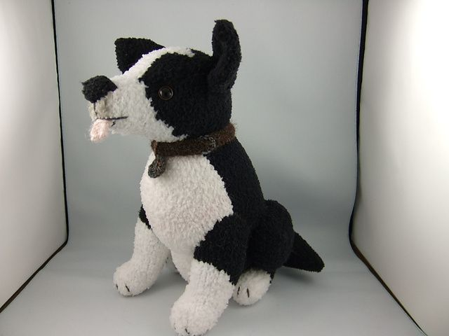 Knitting Pattern For Border Collie Dog : 51 best images about I Love Border Collies on Pinterest Dog art, Holiday ca...