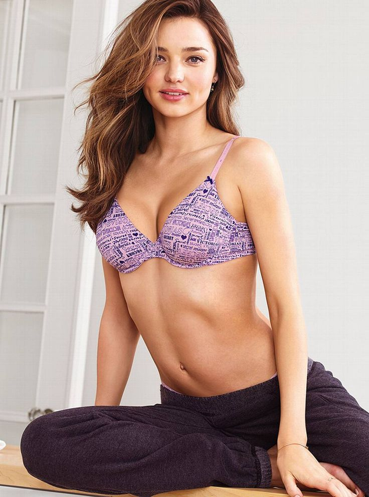 Miranda Kerr – Victoria's Secret Lingerie Photoshoot
