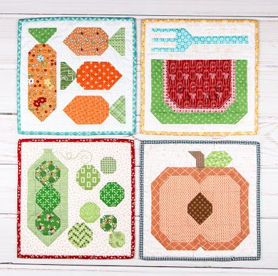 New Lori Holt PDF Patterns Available at Fat Quarter Shop!