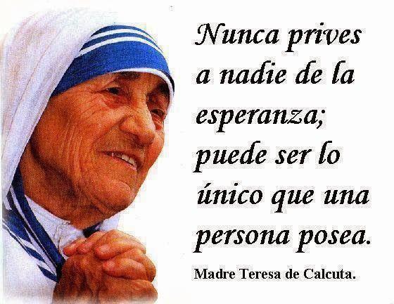 26 de agosto – Día Nacional de la Solidaridad – Madre Teresa de Calcuta. http://www.yoespiritual.com/efemerides/26-de-agosto-dia-nacional-de-la-solidaridad-madre-teresa-de-calcuta.html
