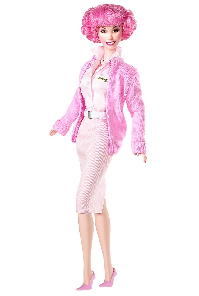 Grease® Frenchy Barbie® Doll (Race Day)  Pink Label®  Designed by: Bill Greening  Release Date: 11/15/2007