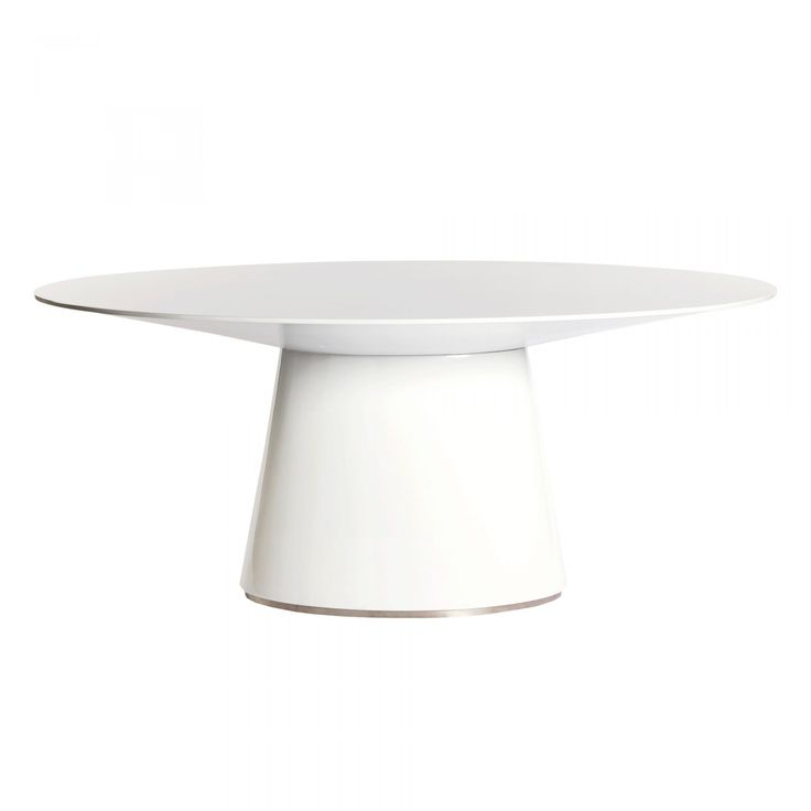 Otago Oval Dining Table White   Dining Tables   MOEu0027S Wholesale