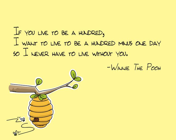 Favorite quote from Winnie The Pooh...