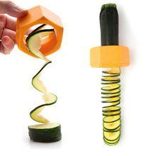 Горячие Продажа Новые Кабачок Огурец Резак Овощной Нож Приготовления Гаджеты Кухня Инструмент Случайный Цвет(China (Mainland))