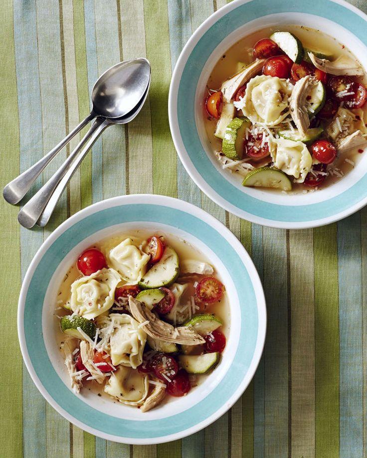Chicken Tortellini Soup!