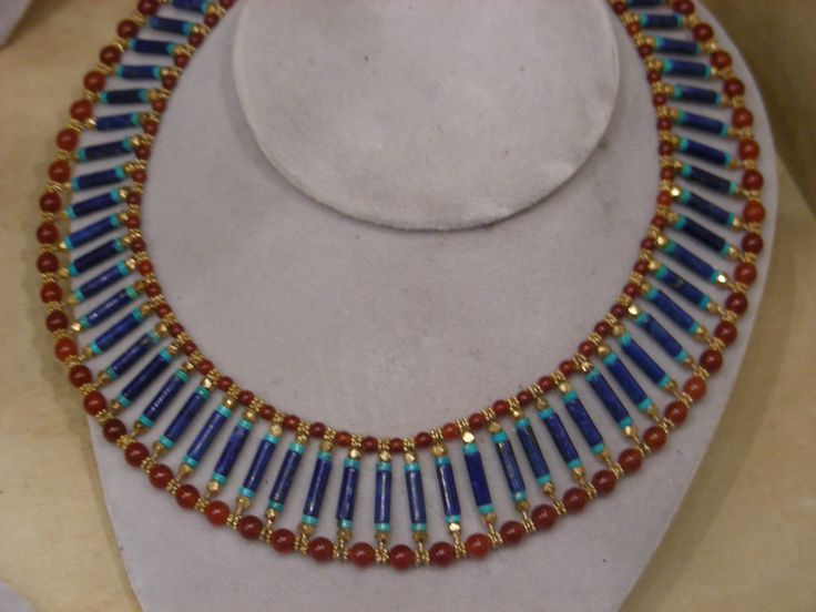 Ancient Egypt Jewelry | Jewellery at Tutankhamun Ancient Exhibition deYoung Museum San ...
