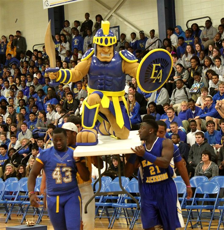 East Ascension High School Spartans Mascot created by BAM! Mascots!! Check out more of our school mascots at: https://www.bammascots.com/gallery-of-school-mascots