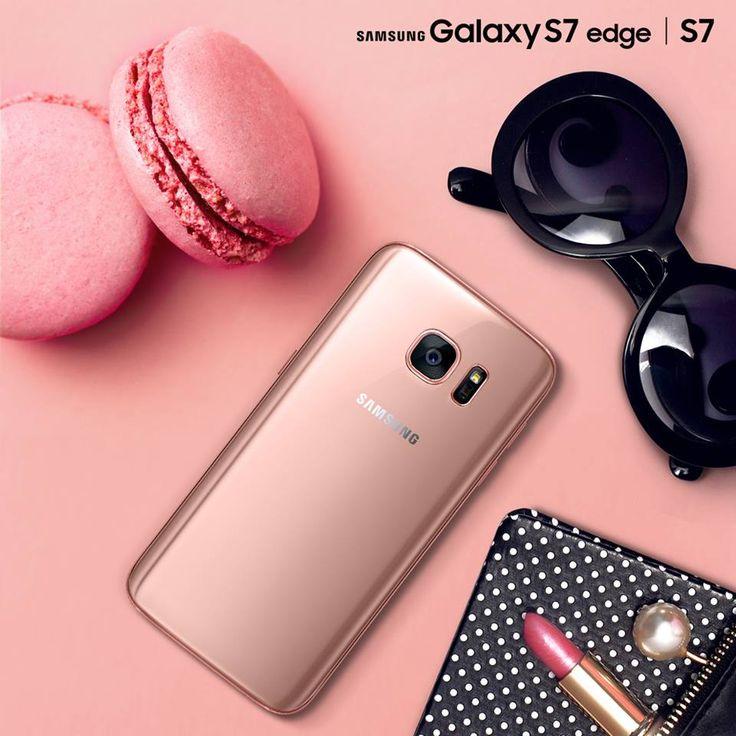 Sắc hồng cho nàng thêm yêu <3 #nguyenkim #samsung #galaxys7 #galaxys7edge