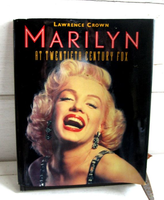Marilyn Monroe Hardcover Coffee Table Book By Jensdreamvintage 24 50