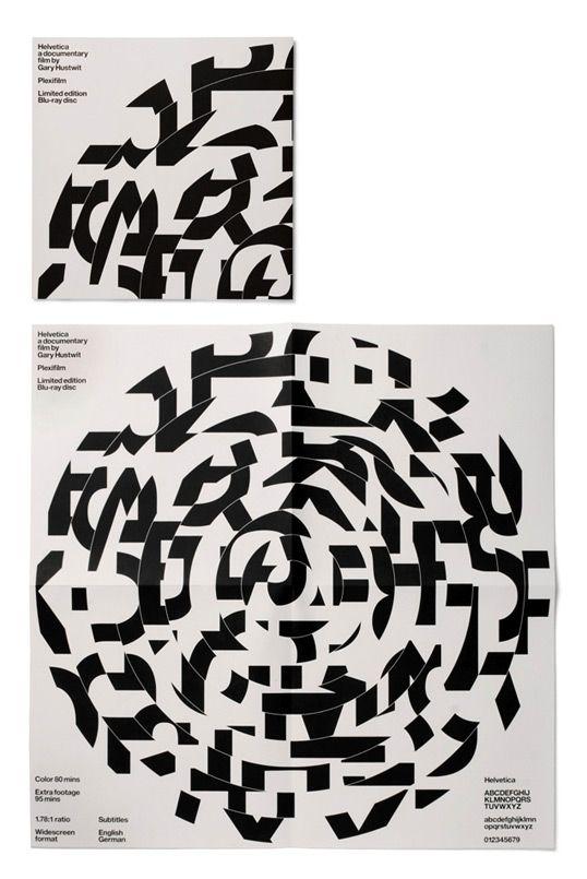 "Helvetica's ""Record"" Sleeve Packaging. For custom vinyl packaging, visit www.unifiedmanufacturing.com"