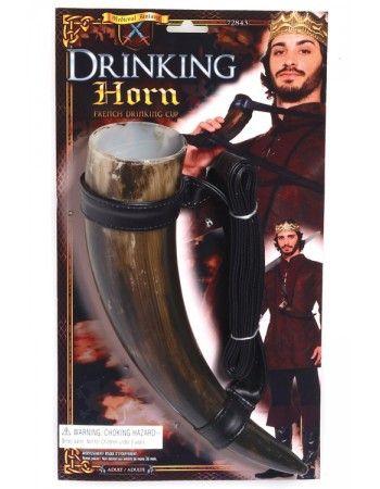 Coupe médiévale en forme de corne pour boisson Déguisements Epoque | Deguisement-magic Epoque