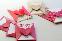 Vintage Valentine Postcard (free printable)   NoBiggie