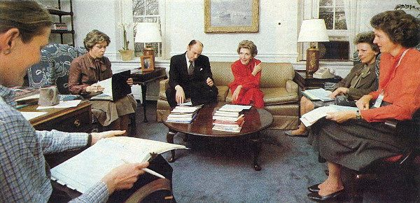 Powersuits in the White House 1983