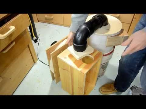 Using a cheap table saw motor to build an efficient blower for Portable dust collector motor blower