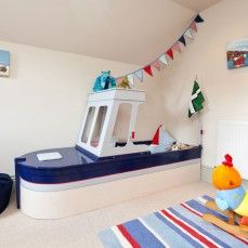 Boat themed bed | Emily Phillips Interiors