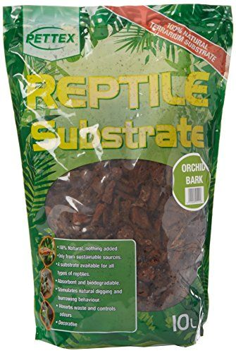 From 6.49 Pettex Reptile Substrate - Orchid Bark 10 Litre