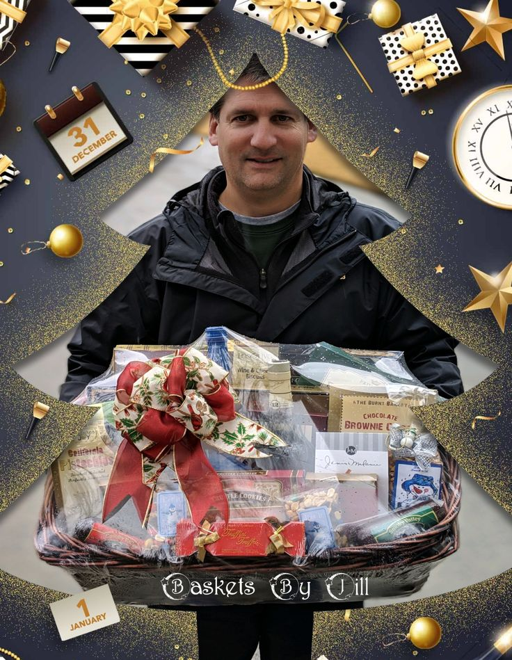 #BasketsByJill Delivering #Happiness #Awesomeness #HolidayCheer  to #Customers Since 1990  #Corporate #Holiday #GiftGiving  Making the Ordinary Extraordinary🎁💝🎄