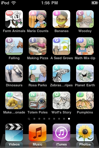 """FREE stories for your iphone/ipad/ipod touch from ReadingAtoZ - search iTunes using """"Language Technologies Inc."""""""