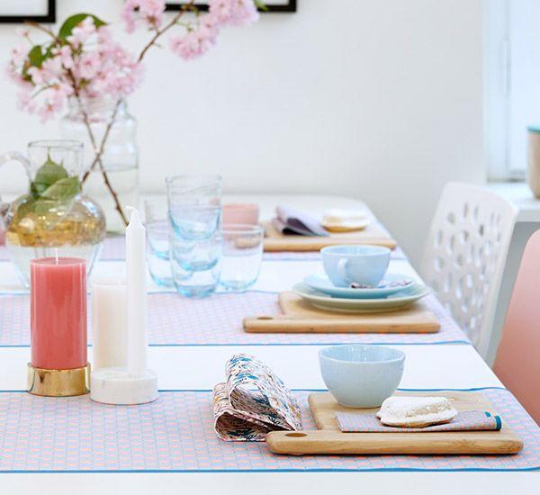Spring designs tablesettings