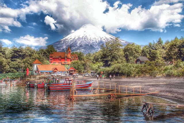 HDR Travel Pictures: Las mil caras del volcán Osorno