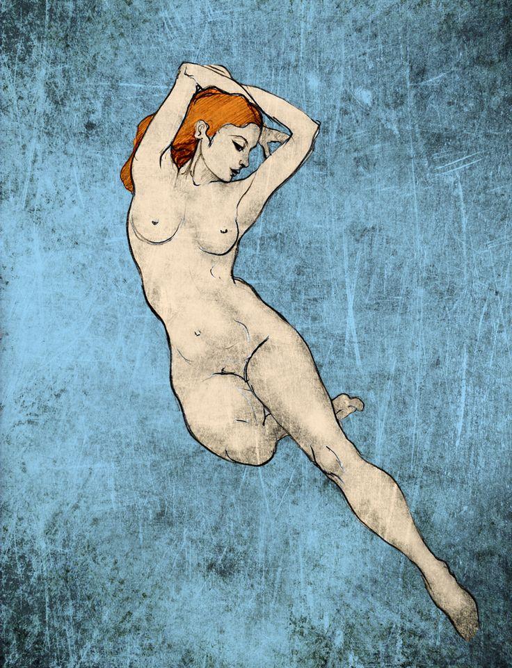 A Stretch of Blue - Corinne Dany