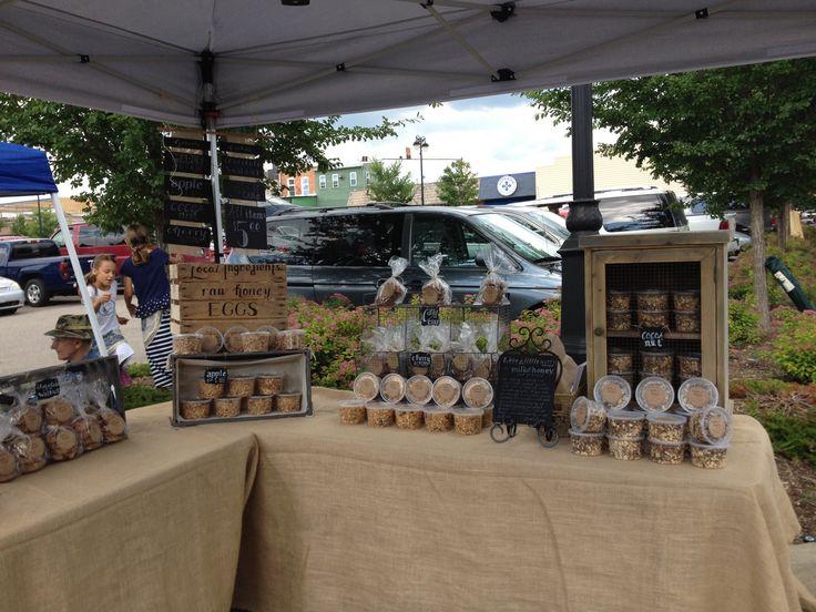 Milk Amp Honey And Grains Farmers Market Display Burlap