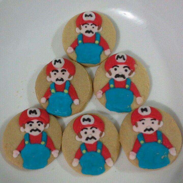 Mario Bros cookies