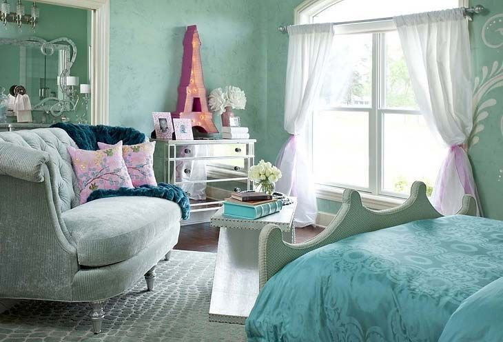 turquoise room images | Turquoise children's room for girls | Ideas for Home Garden Bedroom ...