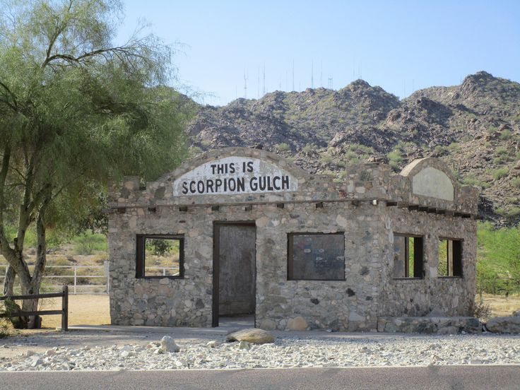 1930's Scorpion Gulch, Vintage Former Home & Store, View to South, Phoenix, Arizona | by classic_film