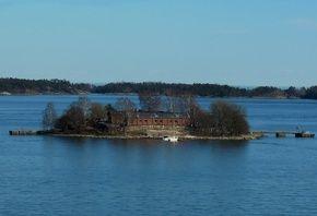 финляндия, острова, пейзаж