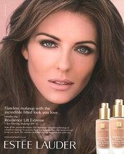 Elizabeth Hurly's Makeup, perfection