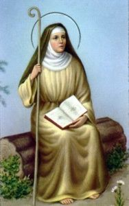 St Monica--patron saint of wives, mothers, and alcoholics.