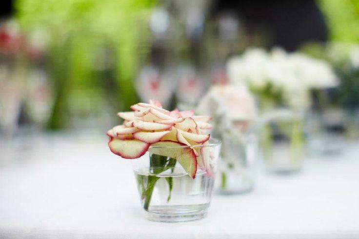 Beautiful rose bud vase