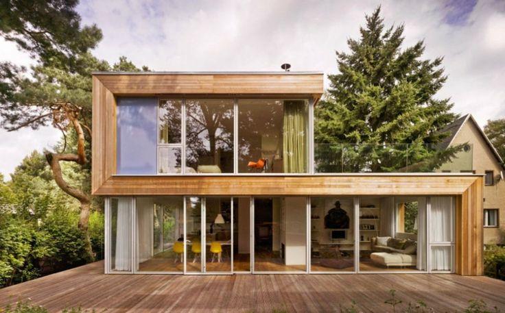 25 b sta id erna om holzhaus fertighaus p pinterest. Black Bedroom Furniture Sets. Home Design Ideas