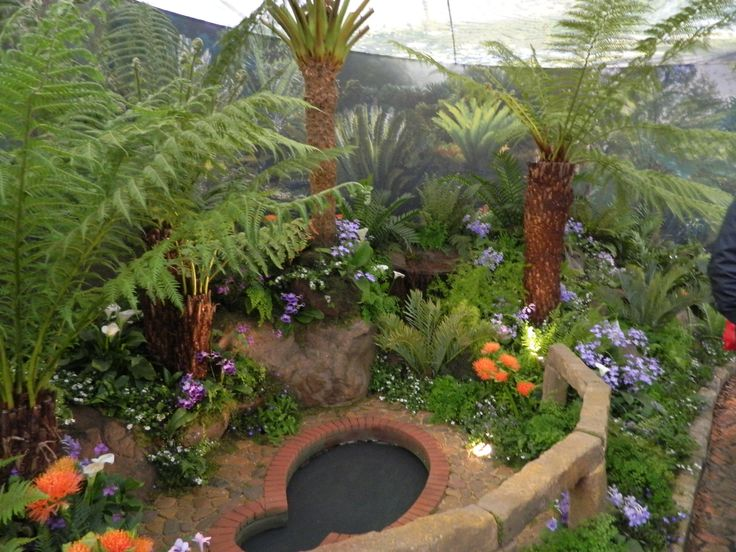 South African stand at Chelsea Flower show 2013