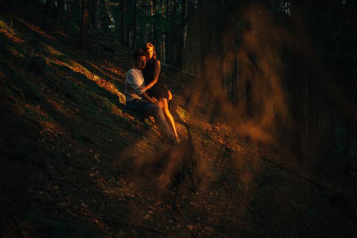 Marta & Kamil || Poland #photography #sunbeams #goldensun #sunset