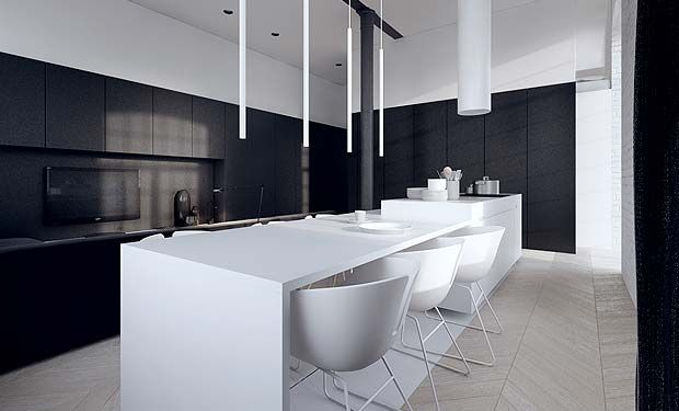 Kitchen Lighting and Sleek Pendant Lights
