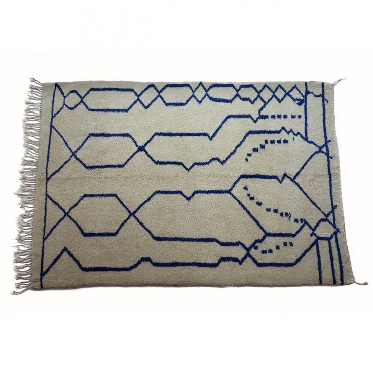 Beni Ouarain rug, no.127 { 240 x 170 cm } 12.000DKK