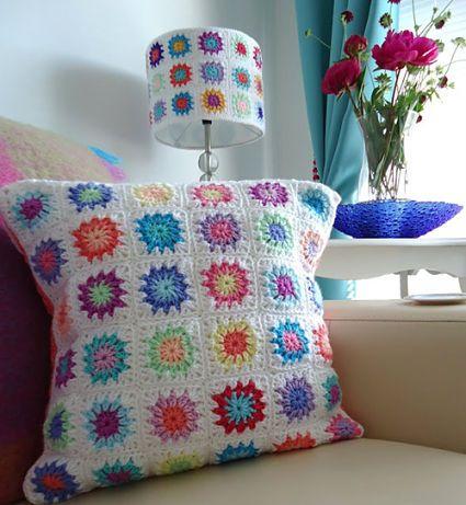 Dale color a tu hogar con crochet