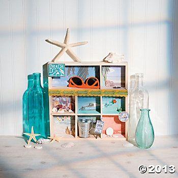 Beach Shadow Box Project Idea, memory of Savannah trip maybe?