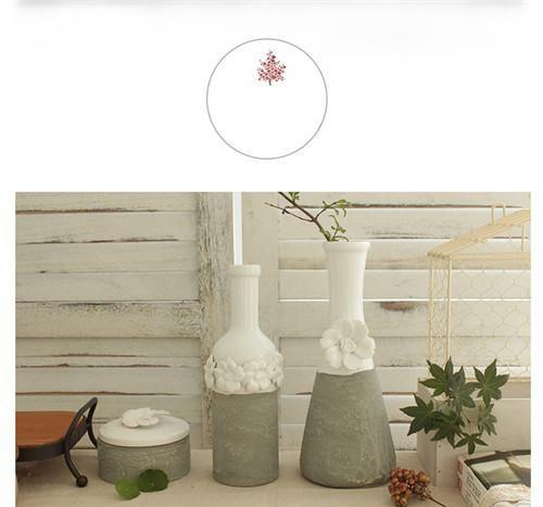 для дома свежесть цветочная ваза, цветочный горшок бытовые мини ваза два цвета изготовлении розетки