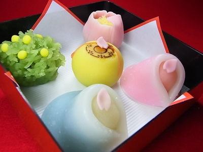 """Japanese Sweets, """"wagashi"""""""