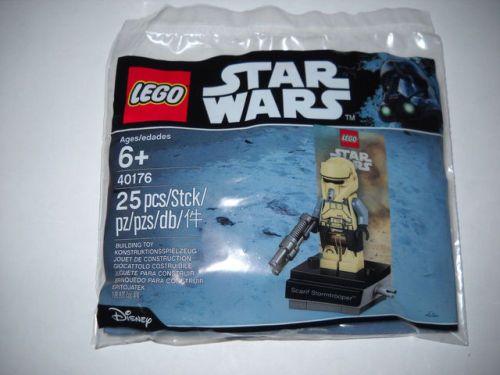 LEGO 40176 Star Wars Scarif Stormtrooper Promo Minifig - New in...