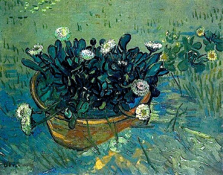 bofransson:    Vincent van Gogh - 1888 Bowl with Daisies