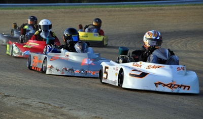 racing go-karts