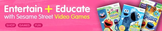 sesame st games