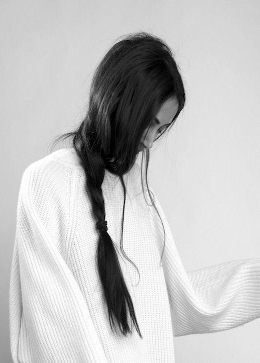 long loose braid