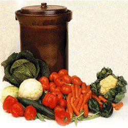 Harsch Gairtopf Fermenting Crock Pot 30 Liter Me7424