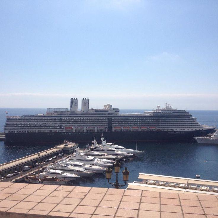 HAL Cruise ship in Monaco